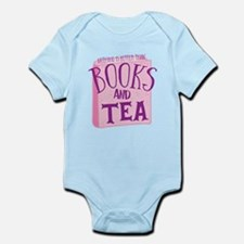 Nothing is better than books and TEA Body Suit