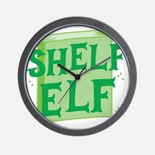 Shelf elf Wall Clock