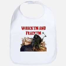 Wackem and trackem Bib