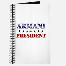 ARMANI for president Journal