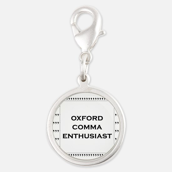 Oxford Comma Enthusiast Charms