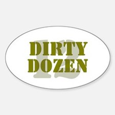 DIRTY DOZEN - 12 Decal