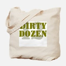 DIRTY DOZEN - 12 Tote Bag