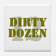 DIRTY DOZEN - 12 Tile Coaster