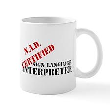 NAD Certified Mug