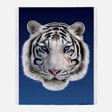 Eyes of the Tiger Throw Blanket