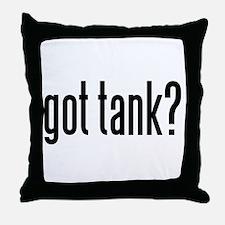 got tank? Throw Pillow