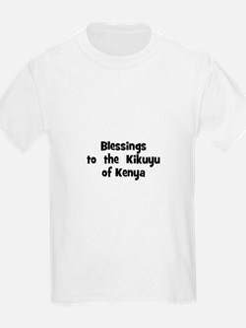 Blessings  to  the  Kikuyu of T-Shirt