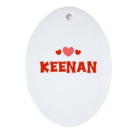Keenan Oval Ornament