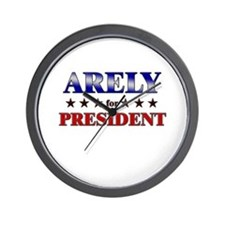 ARELY for president Wall Clock