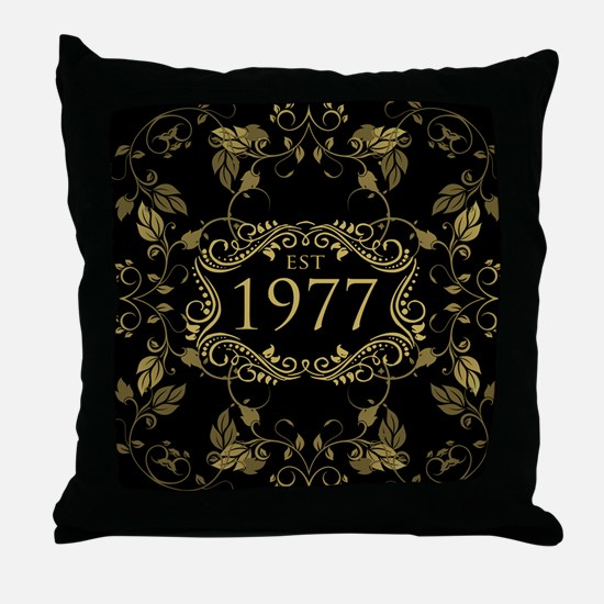 1977 Limited Edition Throw Pillow
