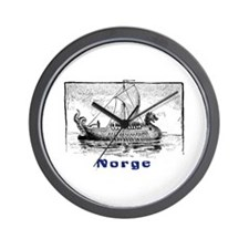 NORGE Wall Clock