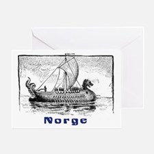 NORGE Greeting Card