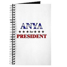 ANYA for president Journal