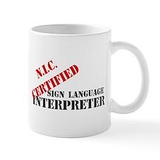 NIC Certified Mug