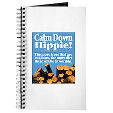Calm Down Hippie! Journal