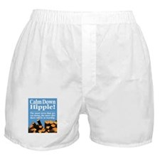 Calm Down Hippie! Boxer Shorts