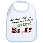 Sun Bathing Otter Bib