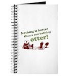Sun Bathing Otter Journal