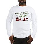 Sun Bathing Otter Long Sleeve T-Shirt
