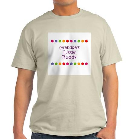Grandpa's Little Buddy Light T-Shirt