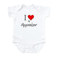 I Love My Appraiser Infant Bodysuit