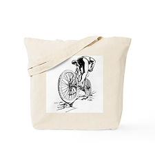 Ride. Mountain Biker Tote Bag
