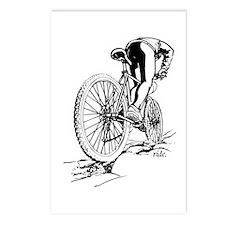 Ride. Mountain Biker Postcards (Package of 8)