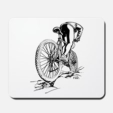 Ride. Mountain Biker Mousepad