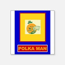 Polka Man Sticker