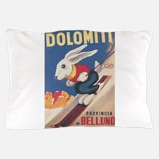 Funny Bunny rabbit Pillow Case