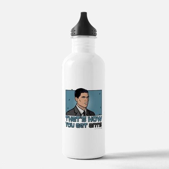 Archer Get Ants Water Bottle