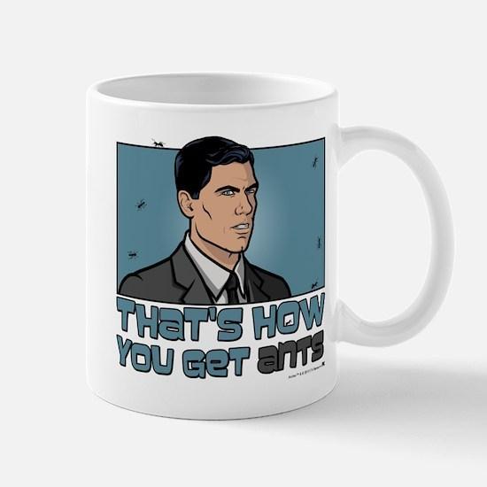 Archer Get Ants Mug