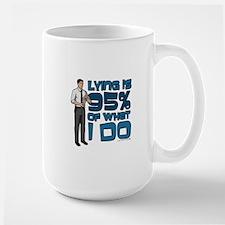 Archer Lying Large Mug