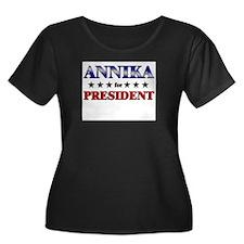 ANNIKA for president T