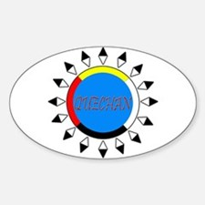 Quechan Oval Decal