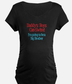 Daddy's Boys Can Swim - Big B T-Shirt