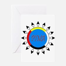 Pima Greeting Card