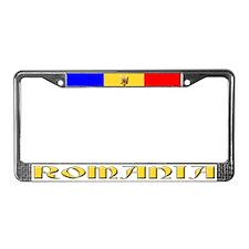Romania - License Plate Frame