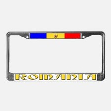 Romania - License Plate Frame