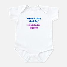 Mommy & Daddy Got It On - Big Infant Bodysuit