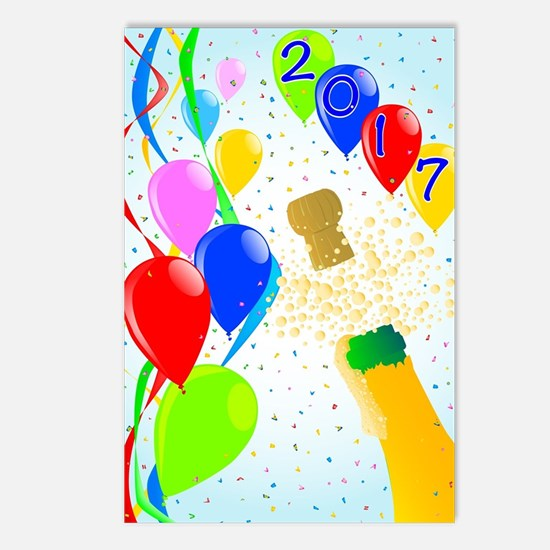 Unique Confetti Postcards (Package of 8)
