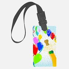 Unique Confetti Luggage Tag