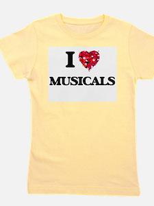 Funny Broadway musicals Girl's Tee
