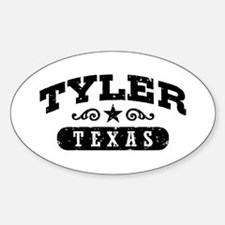 Tyler Texas Decal