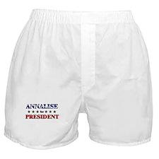 ANNALISE for president Boxer Shorts