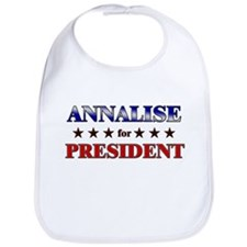 ANNALISE for president Bib