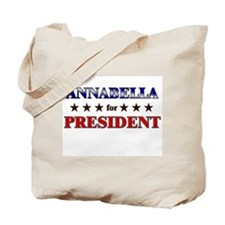ANNABELLA for president Tote Bag