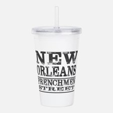 NEW ORLEANS FRENCHMEN Acrylic Double-wall Tumbler