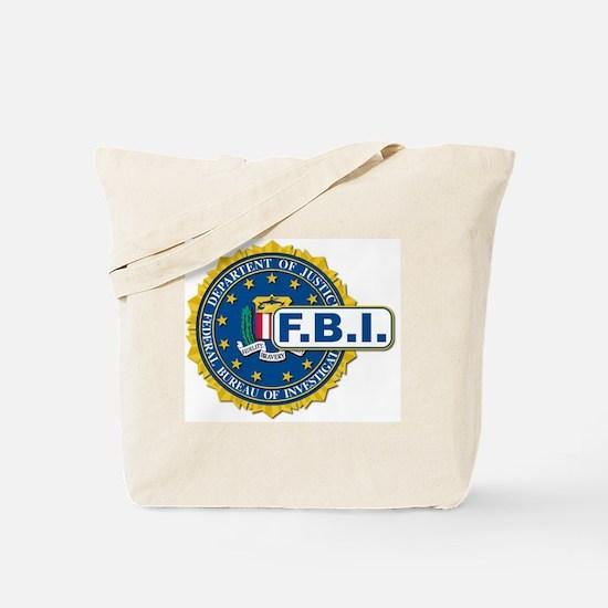Funny Fbi Tote Bag